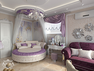комната для юной леди