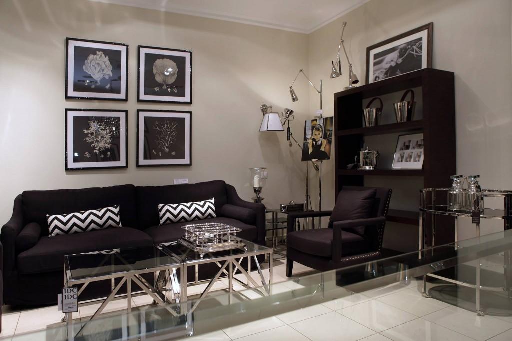 черный цвет в современных интерьерах