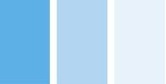 голубой цвет в интерьере