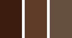 коричневый цвет в интерьере
