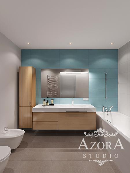 интерьер современной ванной комнаты фото