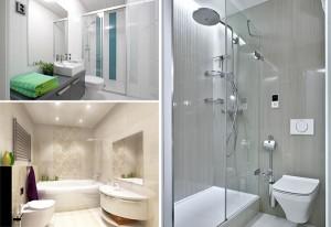 как визуально увеличить ванную