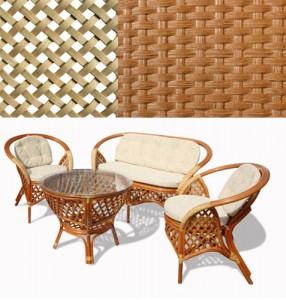 натуральная мебель из ротанга