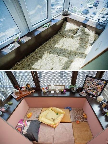 Кровать на лоджии своими руками 97