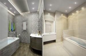выбираем освещение для ванной комнаты