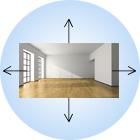 как увеличить комнату