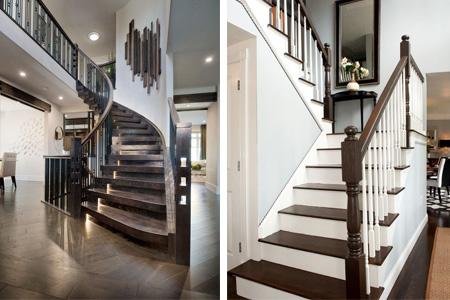 деревянная лестница для частного дома