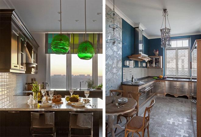 Как красиво оформить кухню в квартире-студии