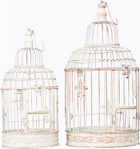 клетка для птиц в интерьере
