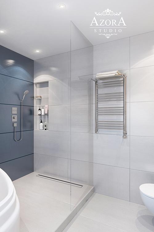 интерьер ванной вид 3
