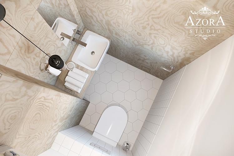 интерьер туалета вид 1