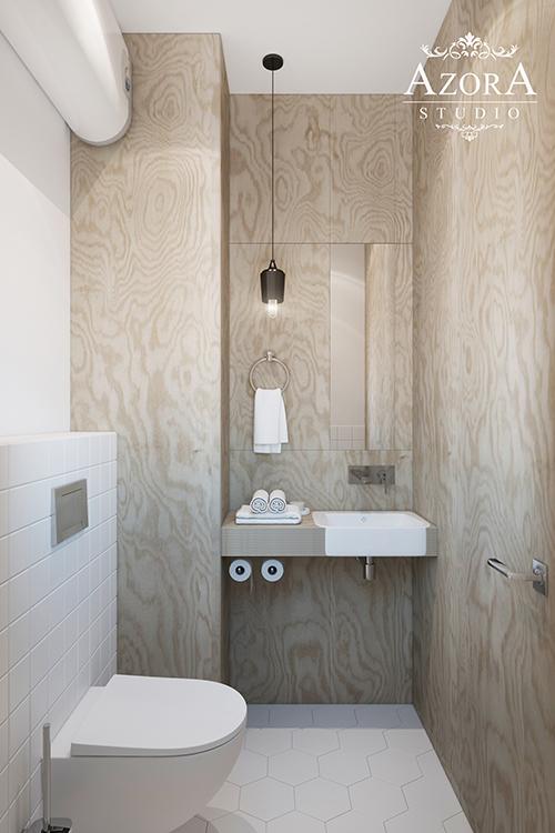 интерьер туалета вид 2