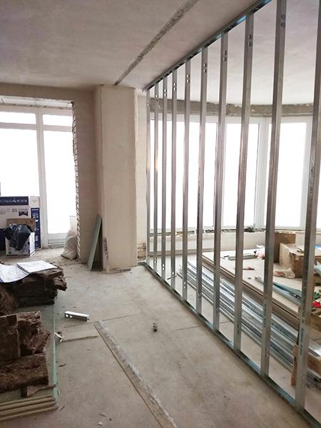 каркас для шумоизоляции стен в квартире