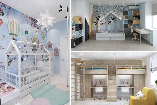 дизайн детской комнаты волгоград