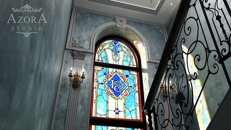 замок холл 3