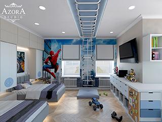 комната для мальчиков в частном доме
